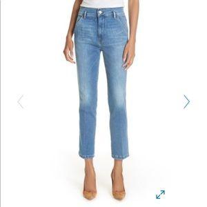 Frame Denim Le Slender Straight Leg Jeans 28 A2
